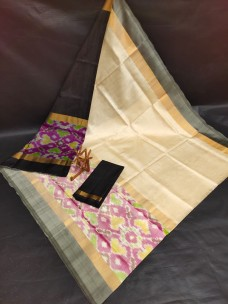 Uppada sarees with big pochampally border