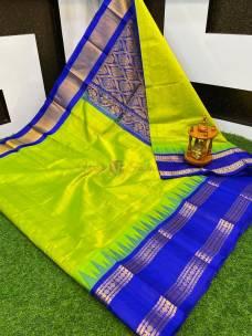 Kuppadam sarees with temple border