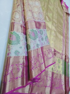 Pure handloom kanchipuram wedding silk sarees