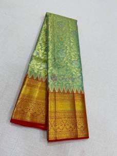 Kanjivaram handloom pure wedding silk sarees
