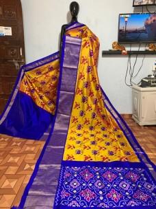 Pure Ikkat silk sarees