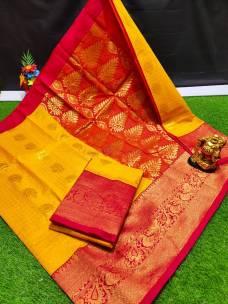 Chanderi kuppadam sarees