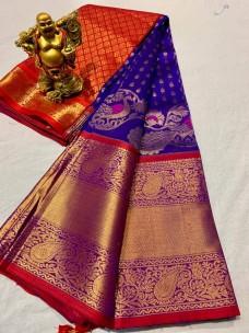 Pure handloom kanchi kuppadam sarees