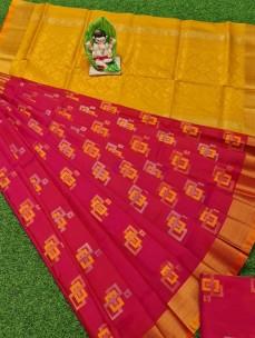 Uppada pattu sarees with rich pallu