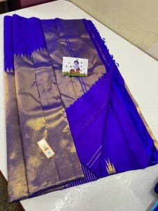 Pure kanchipuram rising temple border sarees