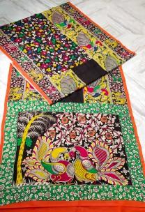 Multicolor chenoori silk sarees