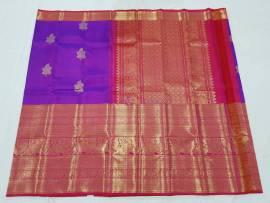 Pure kanchipuram 21 inch big border sarees