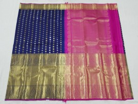 Pure kanchipuram 21 inch big border sarees
