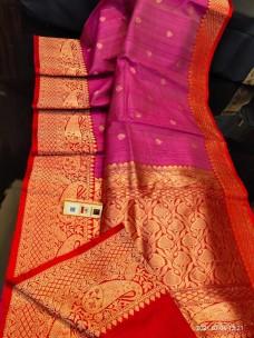 Banarasi tussar silk sarees