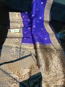 Pure banarasi tussar silk sarees