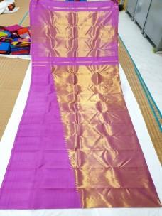Pure kanchipuram rising temple border sarees