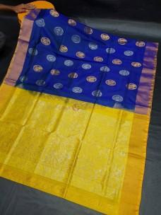 Uppada sarees with rich pallu