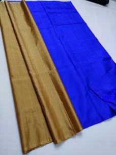 Pure kanchipuram plain soft silk sarees