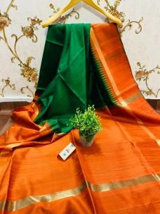 Pure raw silk sarees