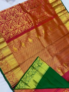 Kanchipuram bridal silk sarees