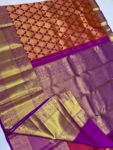 Kanchipuram bridal silk sarees
