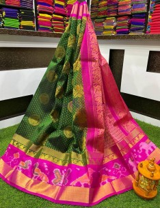 Kuppadam pochampally border sarees