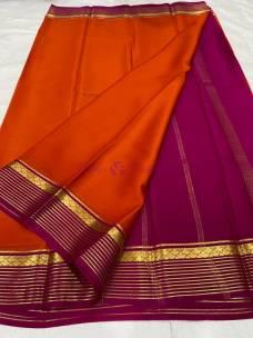 60 gram Pure mysore crepe sarees