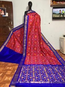 Pure pochampally ikkat sarees
