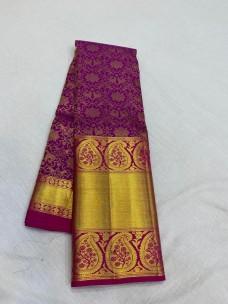 Traditional wedding silk sarees