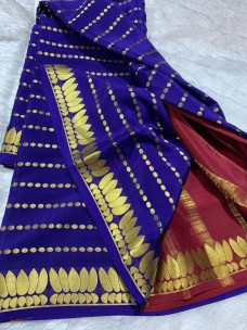 120 gram thickness mysore silk sarees