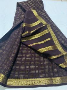 120 gram thickness mysore silk sarees