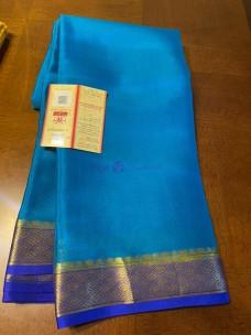 60 gram thickness pure mysore silk sarees