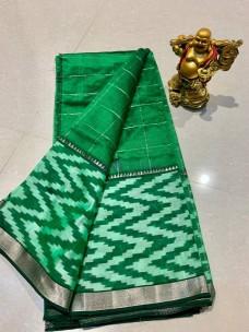 Mangalagiri pattu checks sarees