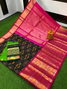 Kanchi kuppadam pocahmpalli design sarees
