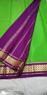 Latest Mysore crepe silk sarees