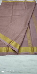 KSIC thickness 100 counts Mysore silk sarees