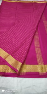 KSIC thickness 100 counts Mysore silk sarees