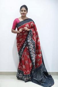 Exclusive Ikkat cotton sarees