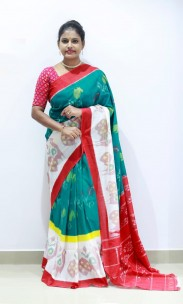 Exclusive Ikkat cotton sarees