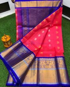 Special kanchi border kuppadam sarees