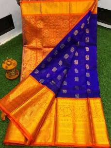 Kuppadam kanchi border sarees