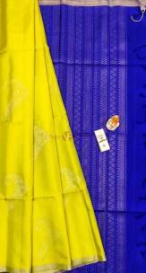 Handloom double warp pure soft silk sarees