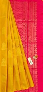 Pure kanchipuram double warp soft silk sarees