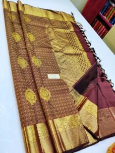 Handloom pure kanchipuram wedding silk sarees
