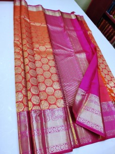 Handloom pure kanchipuram wedding silk sarees