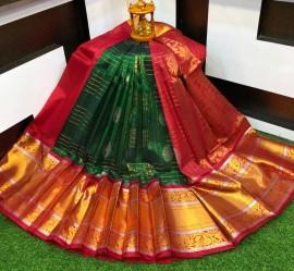 Kuppadam sarees with kanchi border