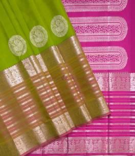 Pure handloom kanjeevaram silk sarees