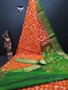 Pure handloom silk cotton sarees