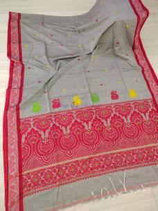 Mercerised by khadi Assam jhapi new design sarees
