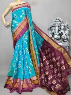 Handloom pochampally ikkat silk sarees