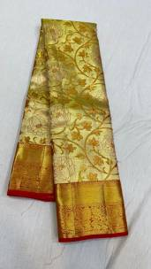 Bridal pure kanchipuram silk sarees