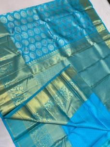 Kanchipuram wedding pure silk sarees