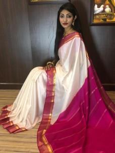 Pure mysore crepe silk sarees