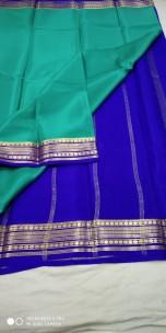 Pure mysore silk 50 counts sarees