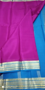 Pure mysore silk 50 counts sarees